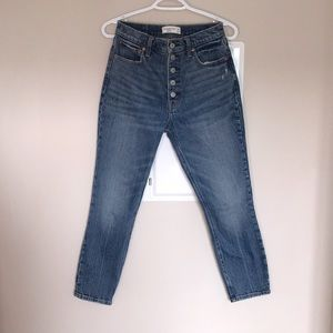 Abercrombie & Fitch High Rise Skinny Jeans 26S